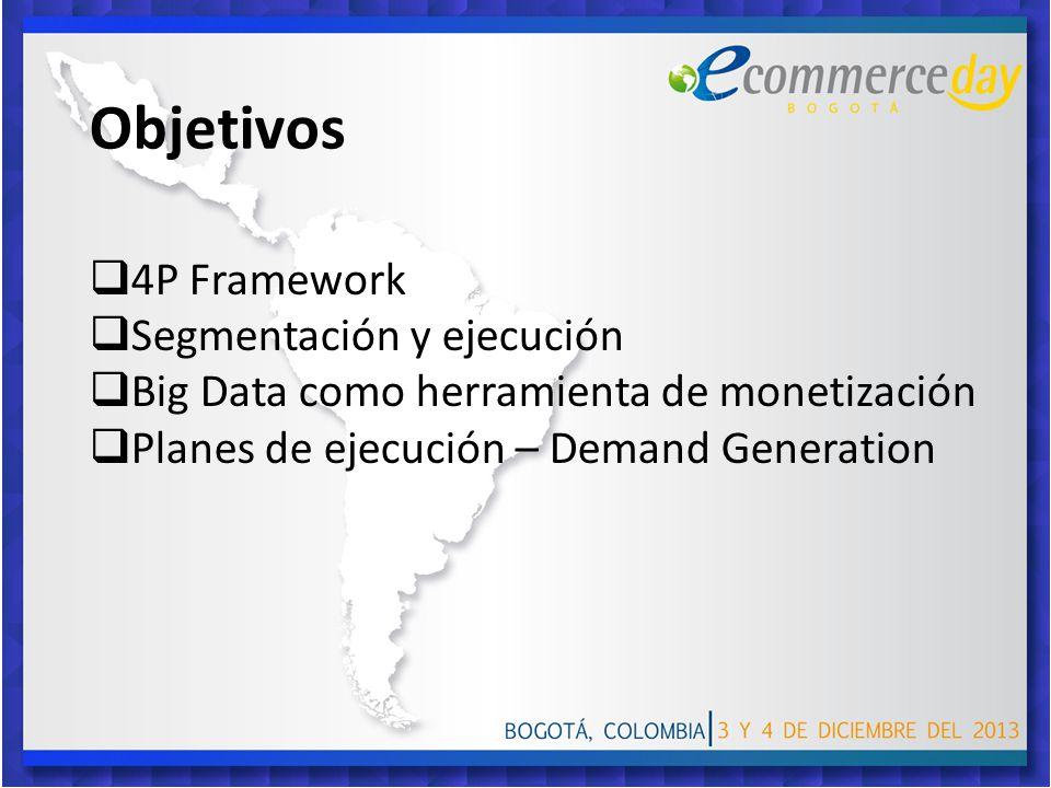 Objetivos 4P Framework Segmentación y ejecución
