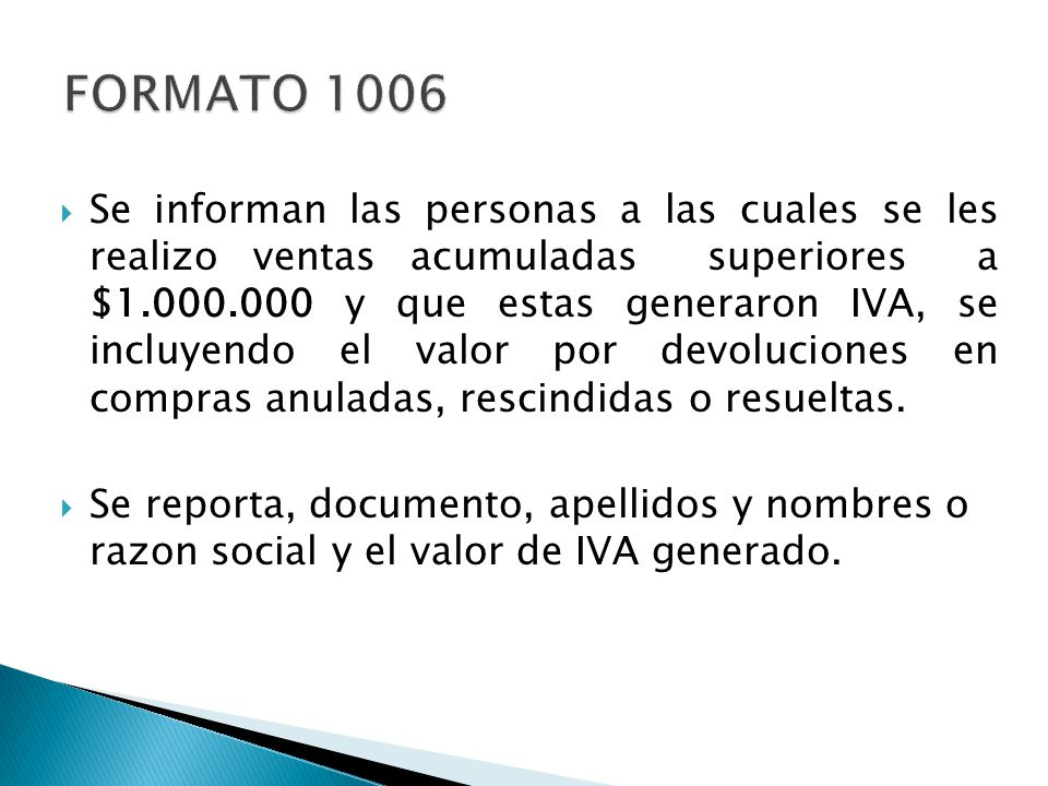FORMATO 1006