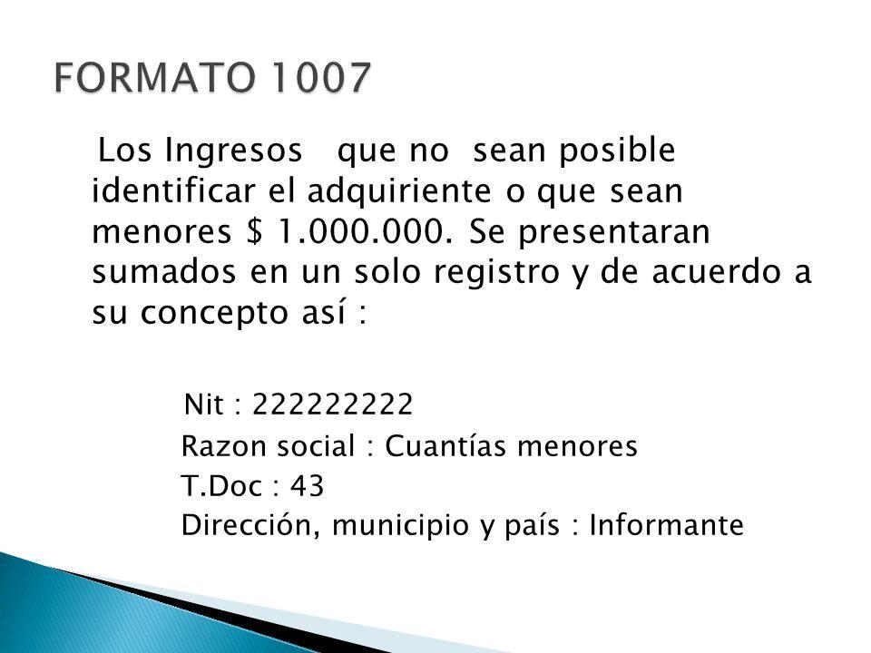 FORMATO 1007