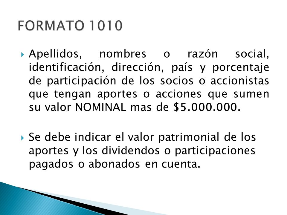 FORMATO 1010