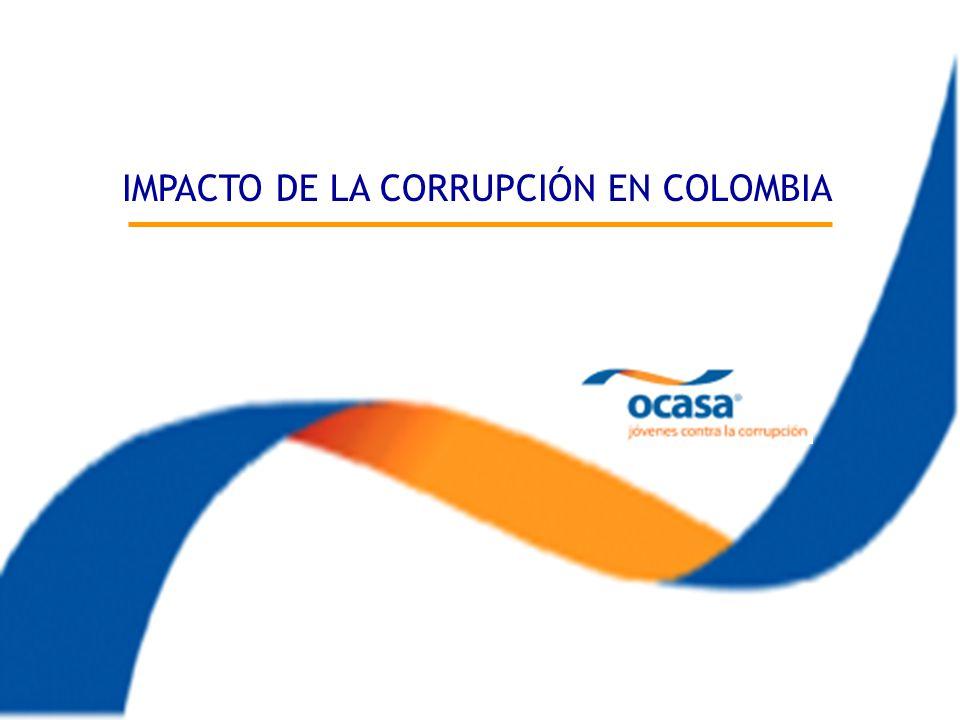 Impacto de la Corrupción en Colombia