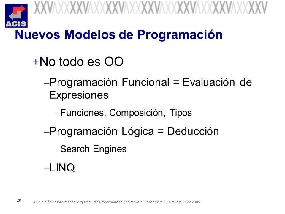 Nuevos Modelos de Programación