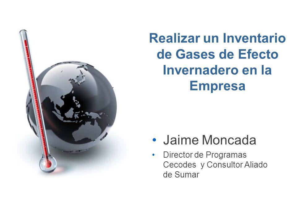 Realizar un Inventario de Gases de Efecto Invernadero en la Empresa