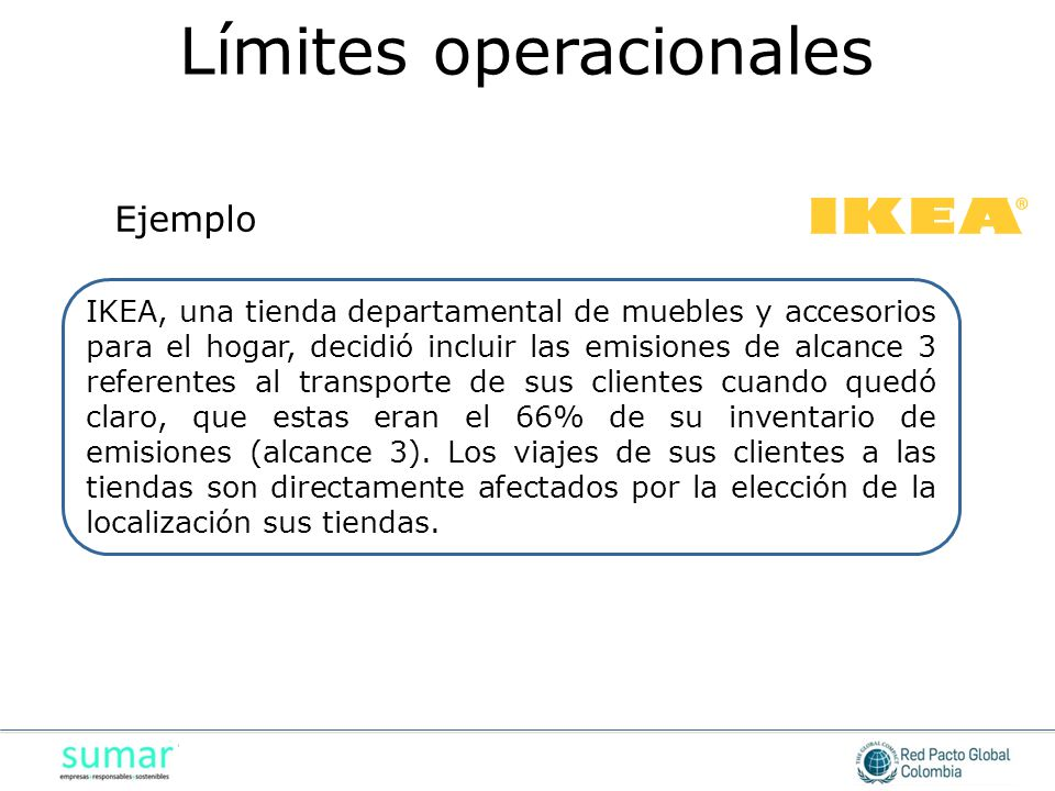 Límites operacionales