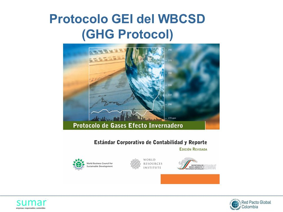 Protocolo GEI del WBCSD (GHG Protocol)