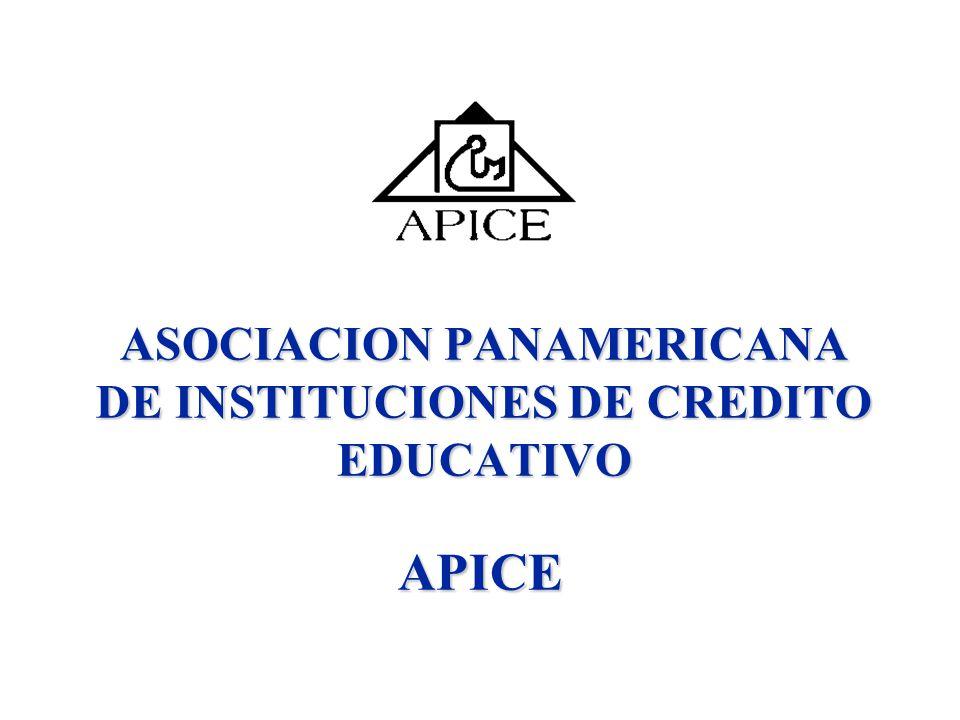 ASOCIACION PANAMERICANA DE INSTITUCIONES DE CREDITO EDUCATIVO