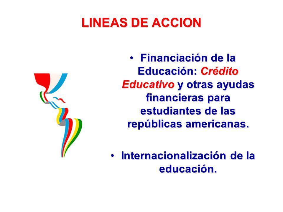 Internacionalización de la educación.