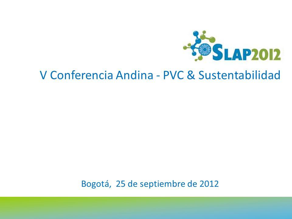 V Conferencia Andina - PVC & Sustentabilidad