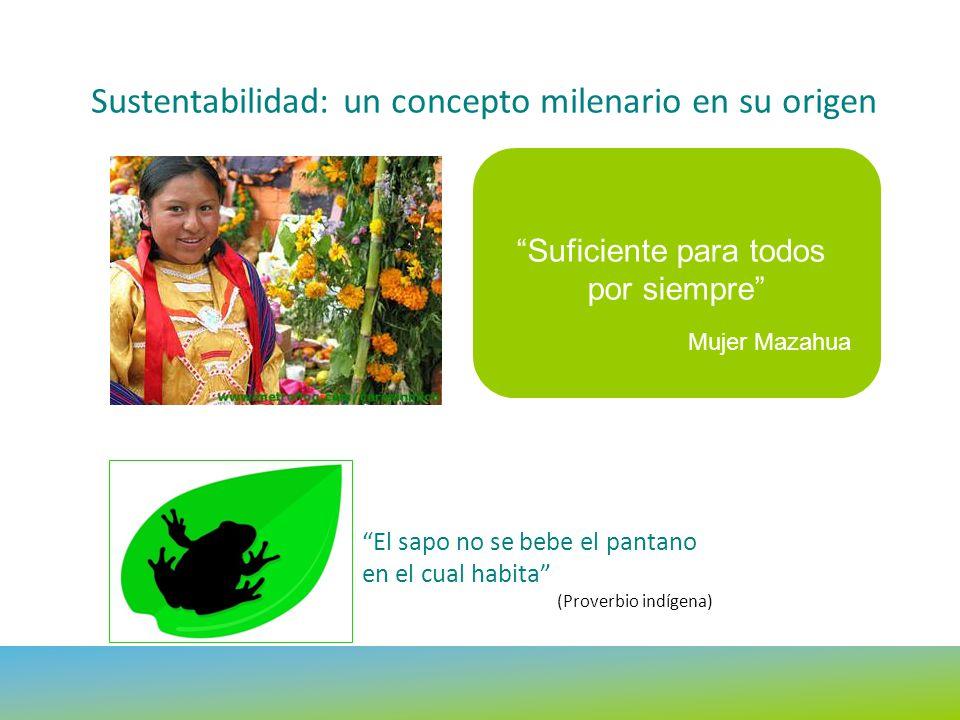 Sustentabilidad: un concepto milenario en su origen