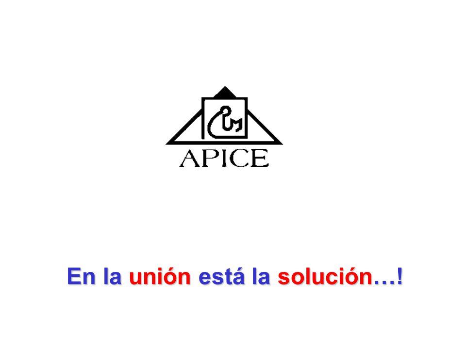 En la unión está la solución…!