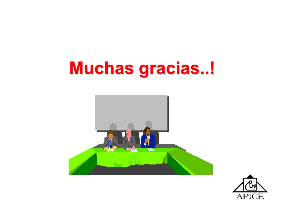 Muchas gracias..!