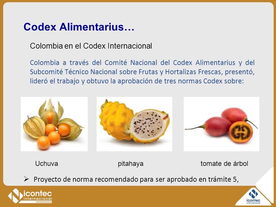 Codex Alimentarius…