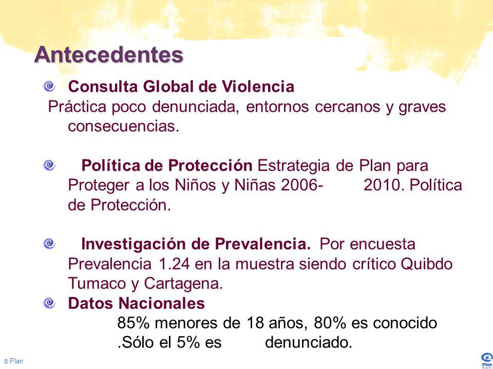 Antecedentes Consulta Global de Violencia