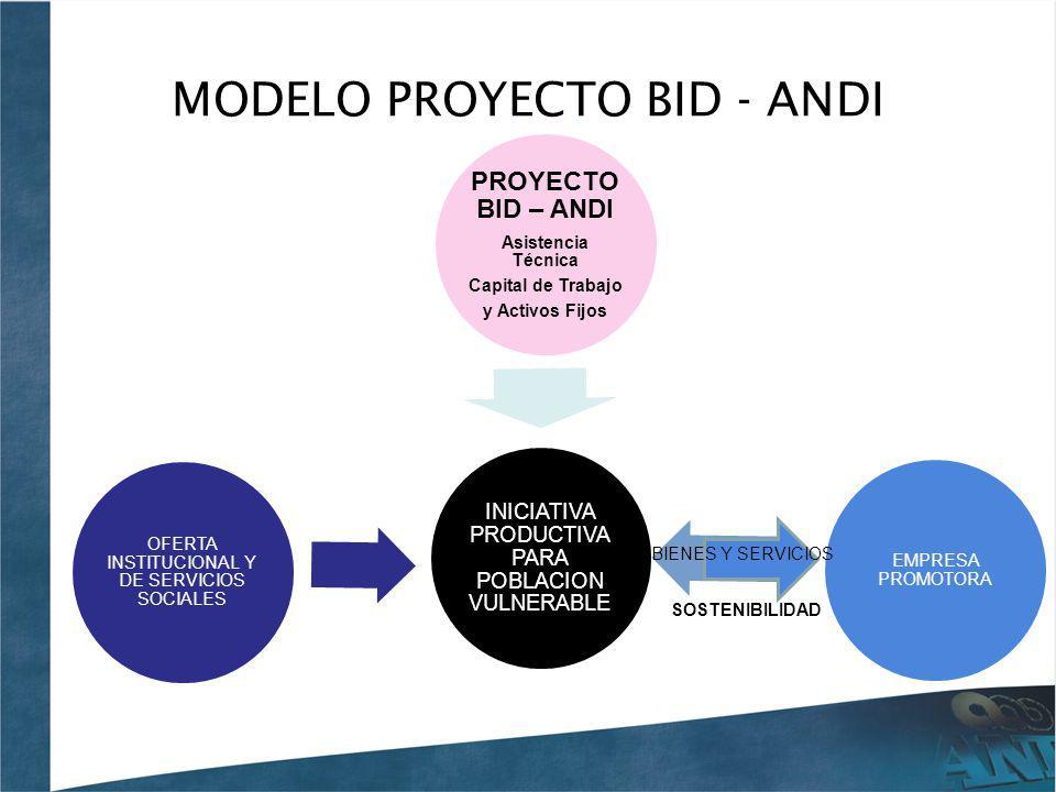 MODELO PROYECTO BID - ANDI