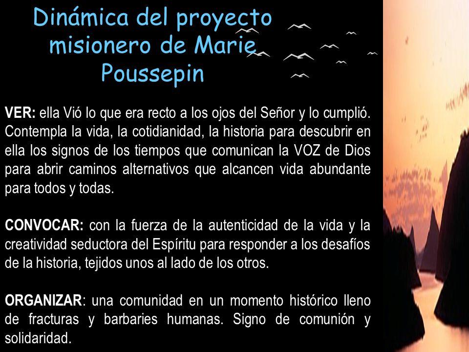 Dinámica del proyecto misionero de Marie Poussepin