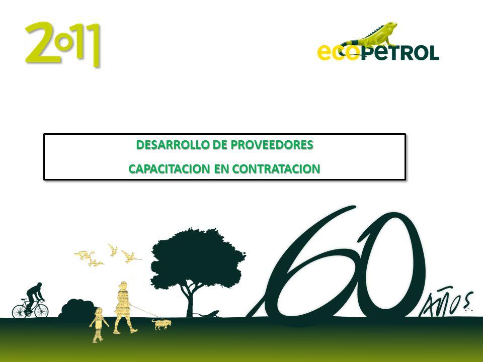 DESARROLLO DE PROVEEDORES CAPACITACION EN CONTRATACION