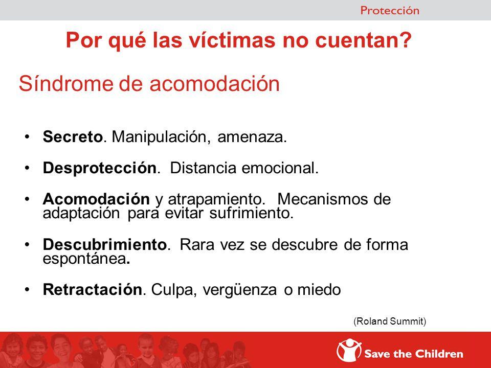 Por qué las víctimas no cuentan
