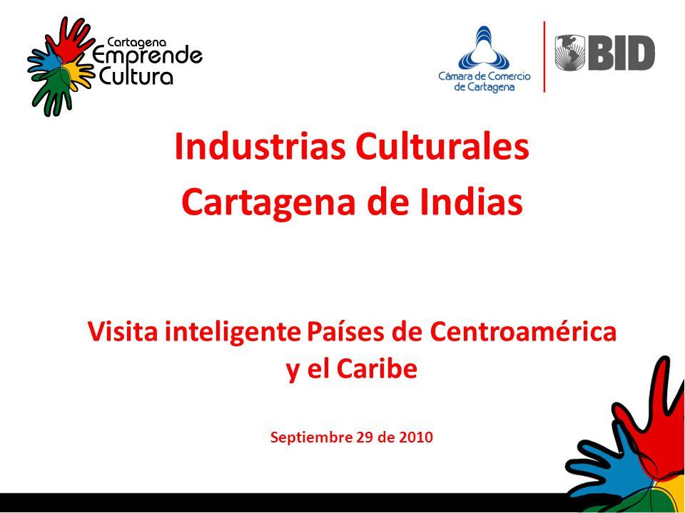 Industrias Culturales Cartagena de Indias