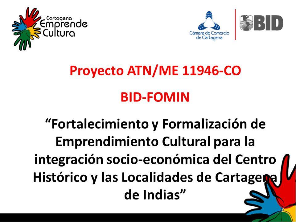 Proyecto ATN/ME 11946-CO BID-FOMIN.