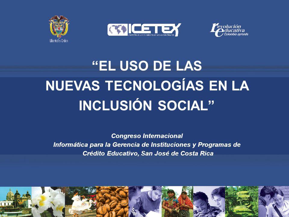 EL USO DE LAS NUEVAS TECNOLOGÍAS EN LA INCLUSIÓN SOCIAL