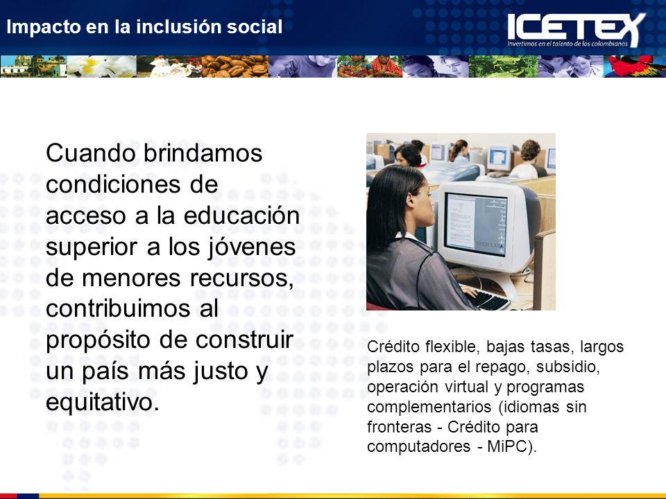Impacto en la inclusión social