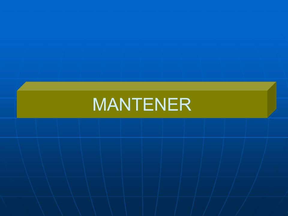 MANTENER