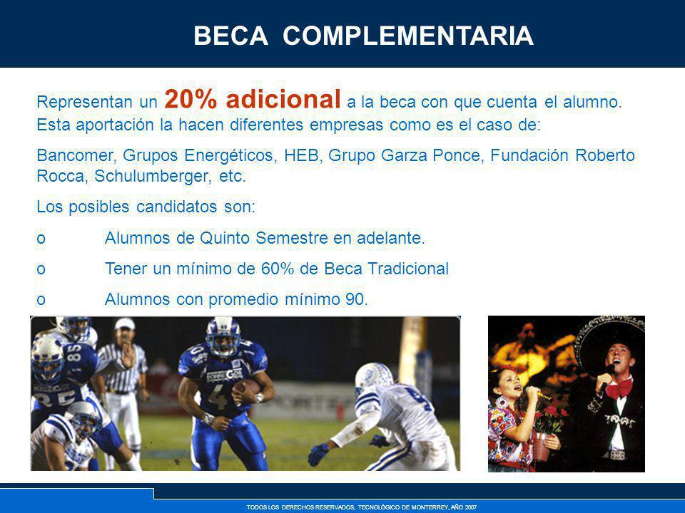 BECA COMPLEMENTARIA Becas Complementarias