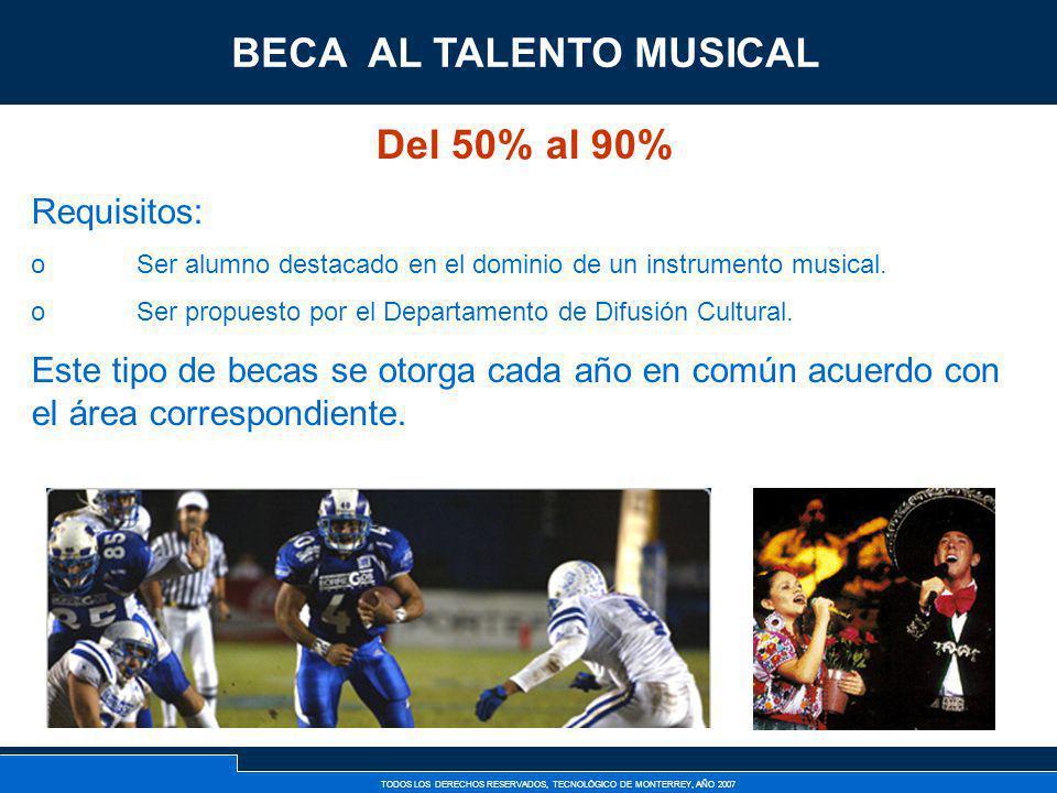 BECA AL TALENTO MUSICAL