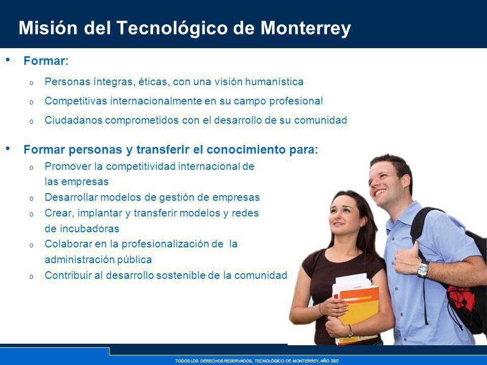 Misión del Tecnológico de Monterrey