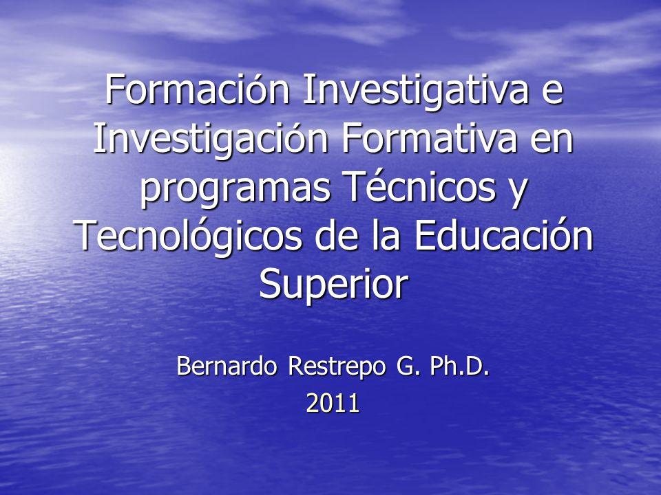 Bernardo Restrepo G. Ph.D.