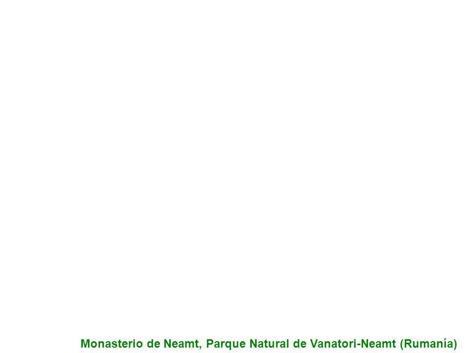 Monasterio de Neamt, Parque Natural de Vanatori-Neamt (Rumanía)