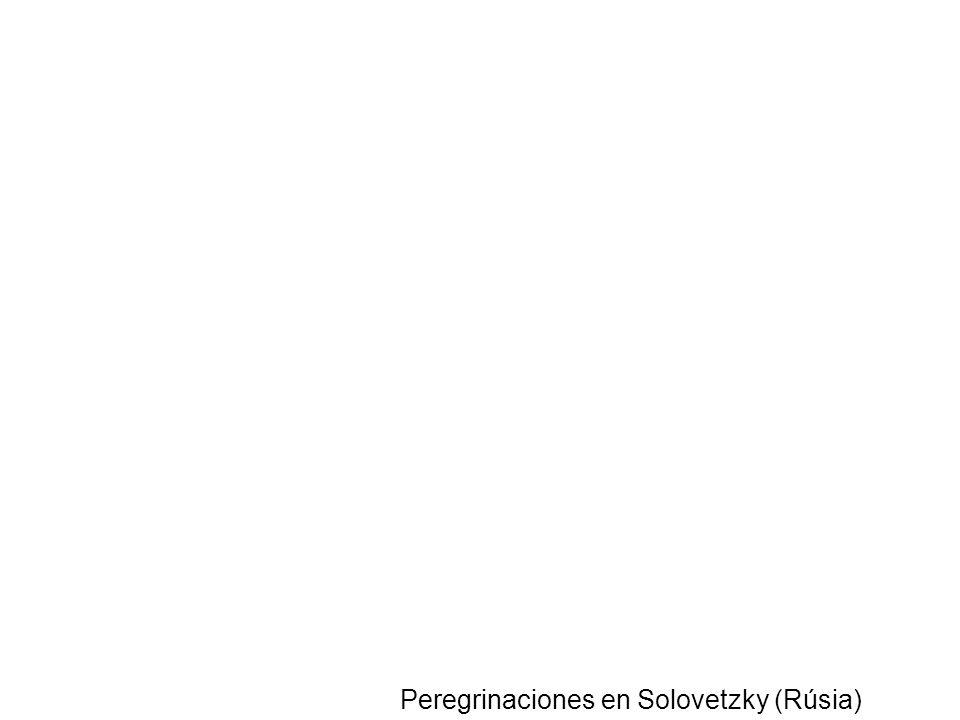 Peregrinaciones en Solovetzky (Rúsia)