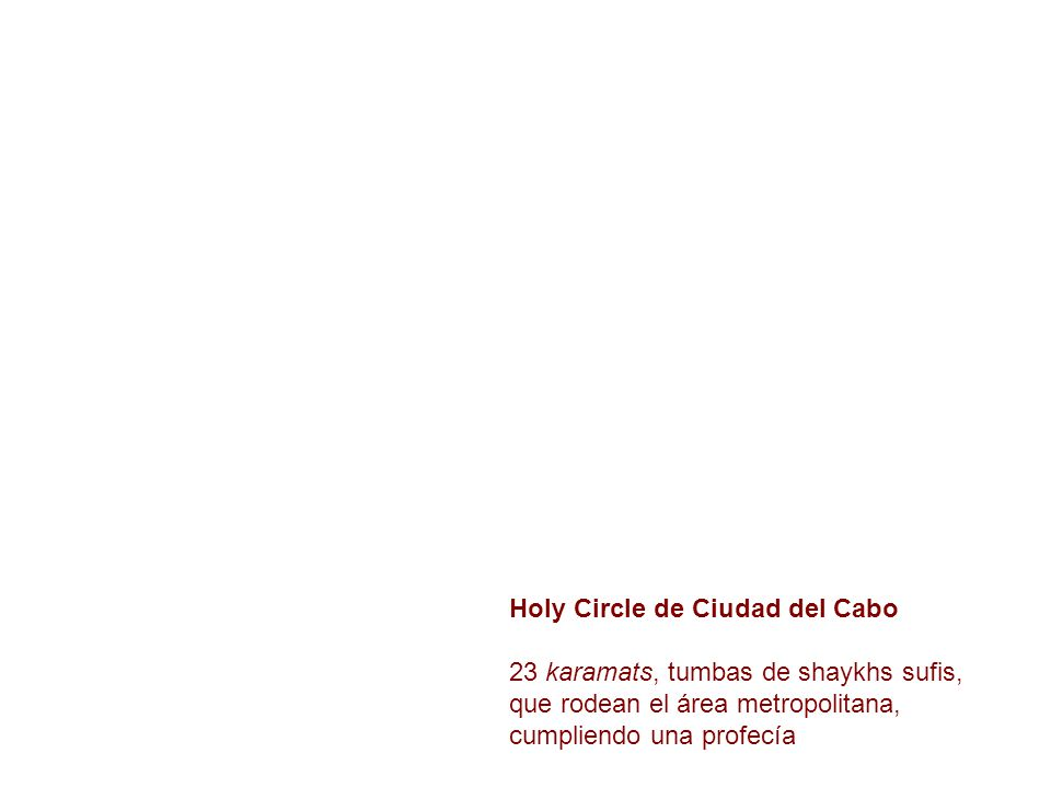Holy Circle de Ciudad del Cabo