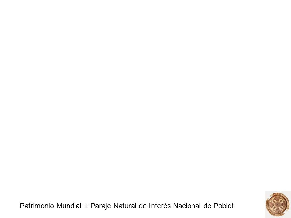 Patrimonio Mundial + Paraje Natural de Interés Nacional de Poblet