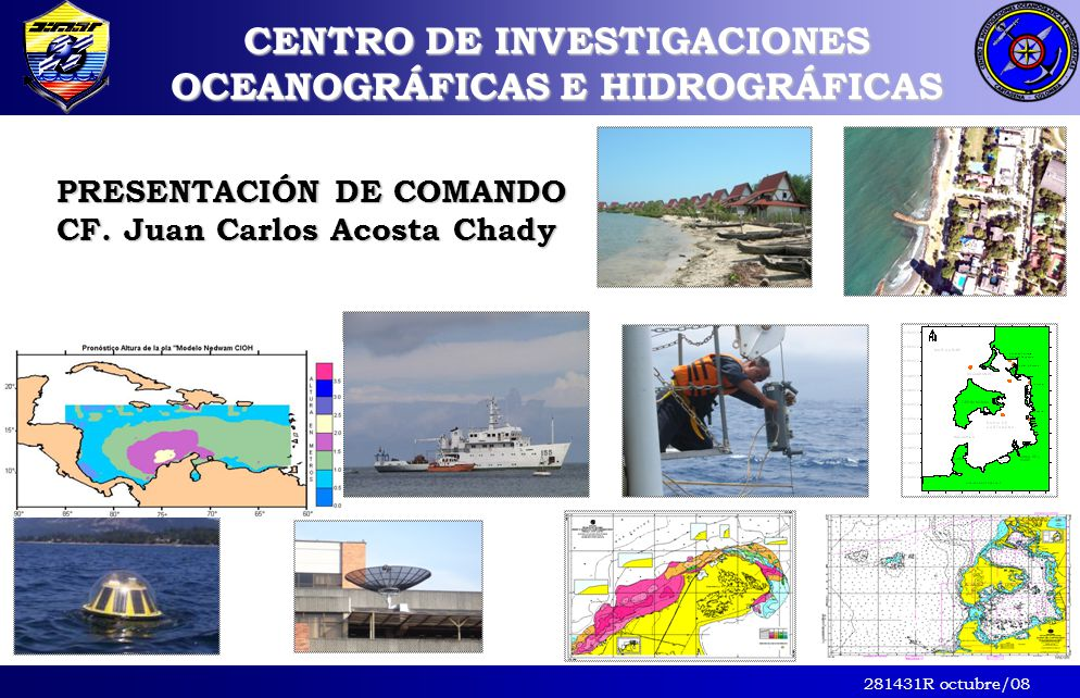 CENTRO DE INVESTIGACIONES OCEANOGRÁFICAS E HIDROGRÁFICAS