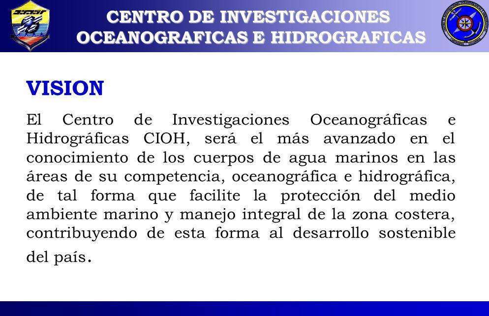 CENTRO DE INVESTIGACIONES OCEANOGRAFICAS E HIDROGRAFICAS