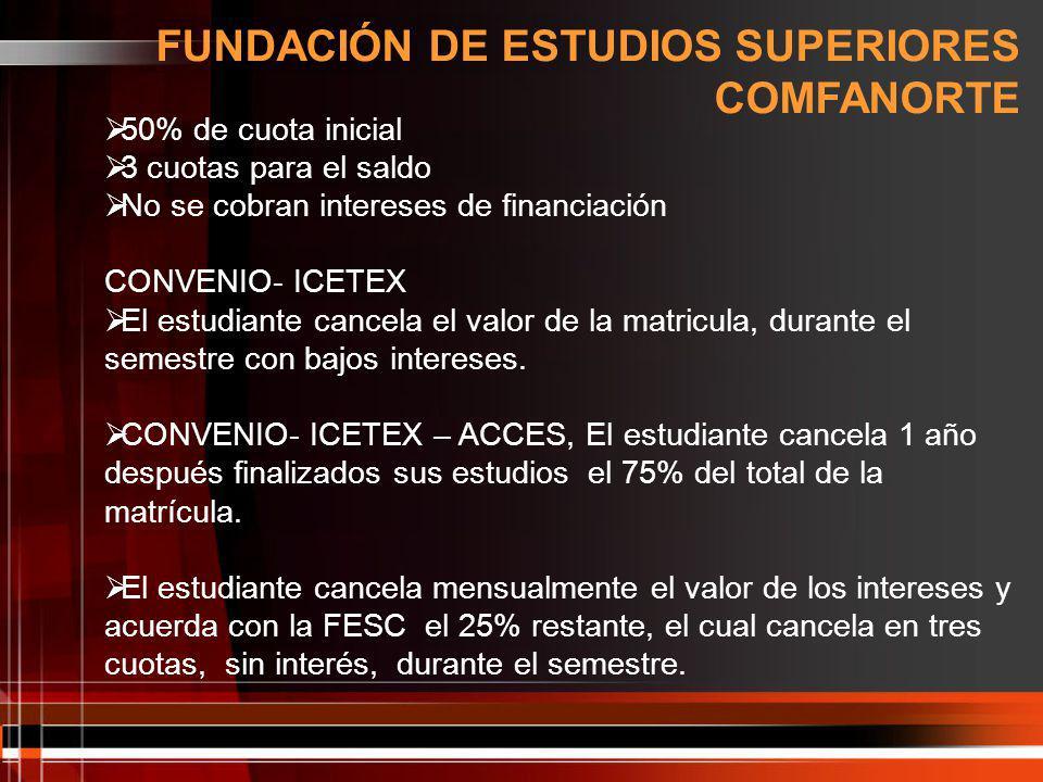 FUNDACIÓN DE ESTUDIOS SUPERIORES COMFANORTE