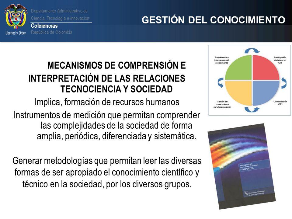 INTERPRETACIÓN DE LAS RELACIONES TECNOCIENCIA Y SOCIEDAD