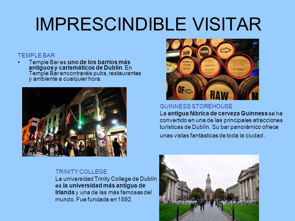 IMPRESCINDIBLE VISITAR