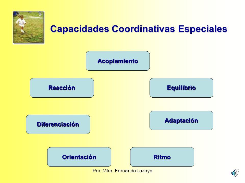 Capacidades Coordinativas Especiales
