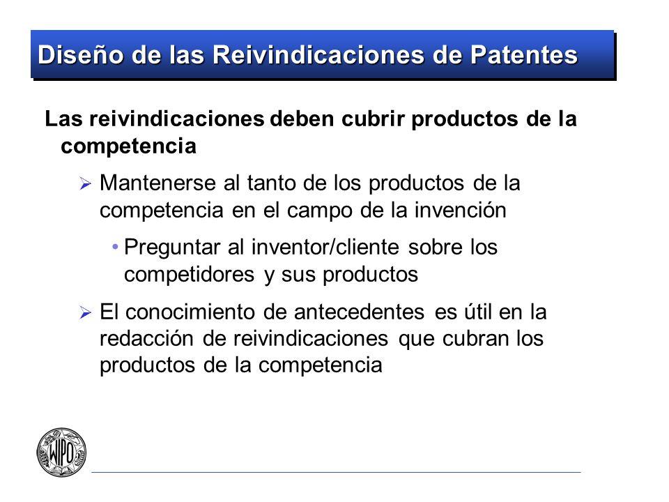 Diseño de las Reivindicaciones de Patentes