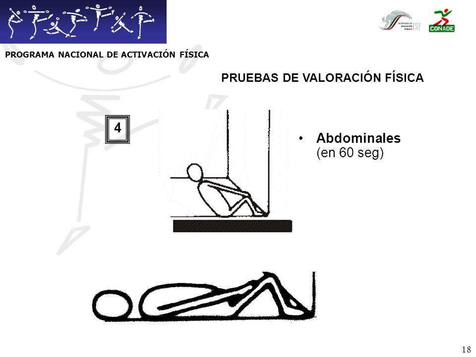 PROGRAMA NACIONAL DE ACTIVACIÓN FÍSICA