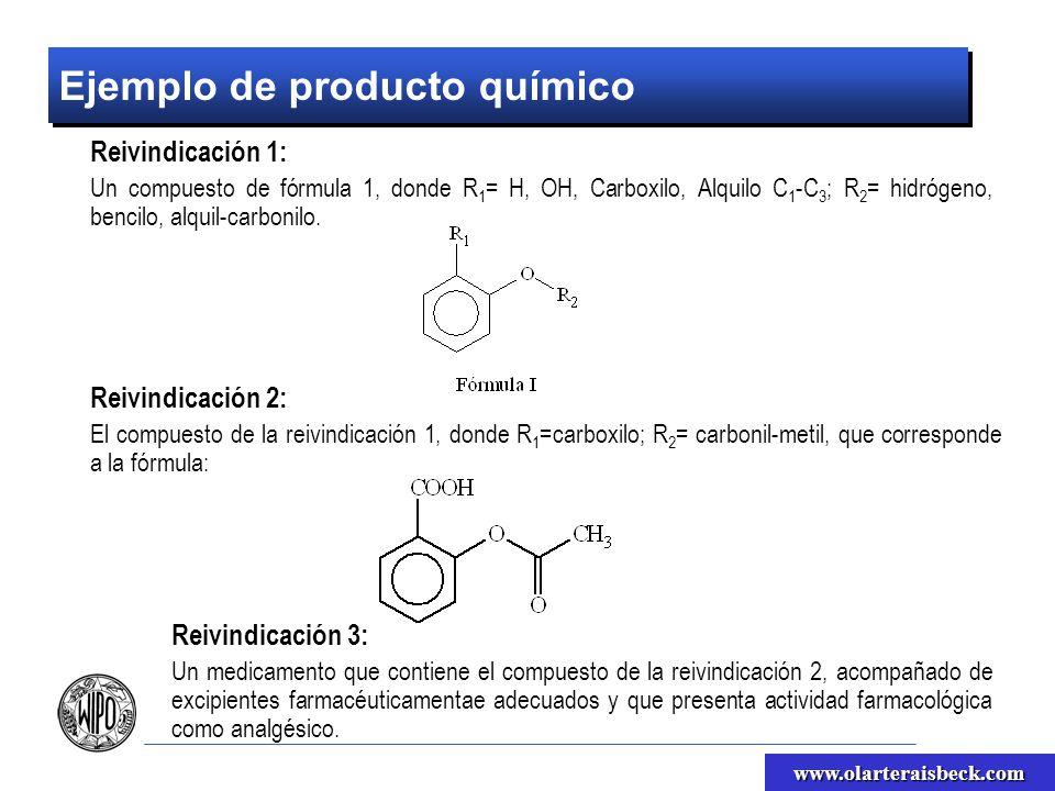 Ejemplo de producto químico