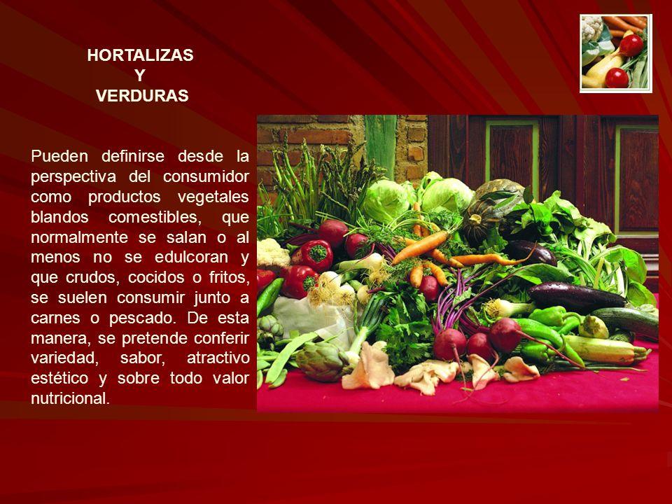 HORTALIZAS Y. VERDURAS.