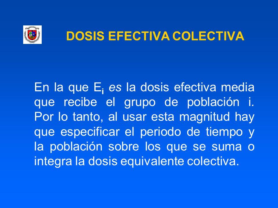 DOSIS EFECTIVA COLECTIVA