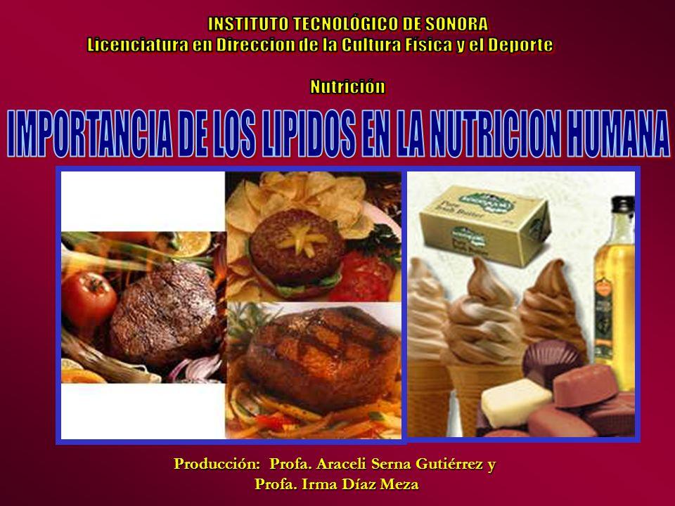 Producción: Profa. Araceli Serna Gutiérrez y