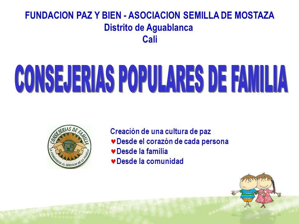 CONSEJERIAS POPULARES DE FAMILIA