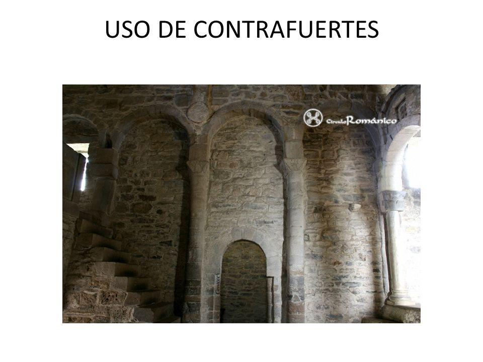 USO DE CONTRAFUERTES