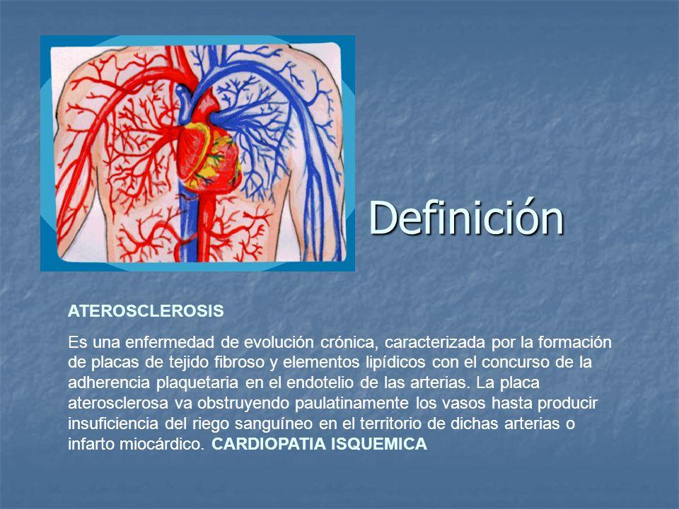 Definición ATEROSCLEROSIS