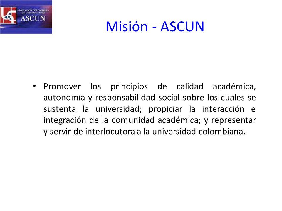 Misión - ASCUN